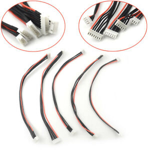 2S-3S-4S-6S-1P-RC-lipo-battery-balance-charger-plug-Cable-22-AWG-Silicon-Wire-YR