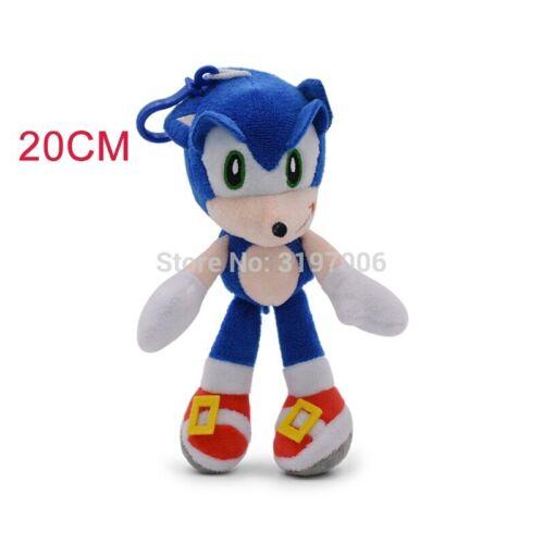 2020 Super Sonic The Hedgehog Plush Doll Soft Stuffed Toy 25-30 cm Toy Kids Gift