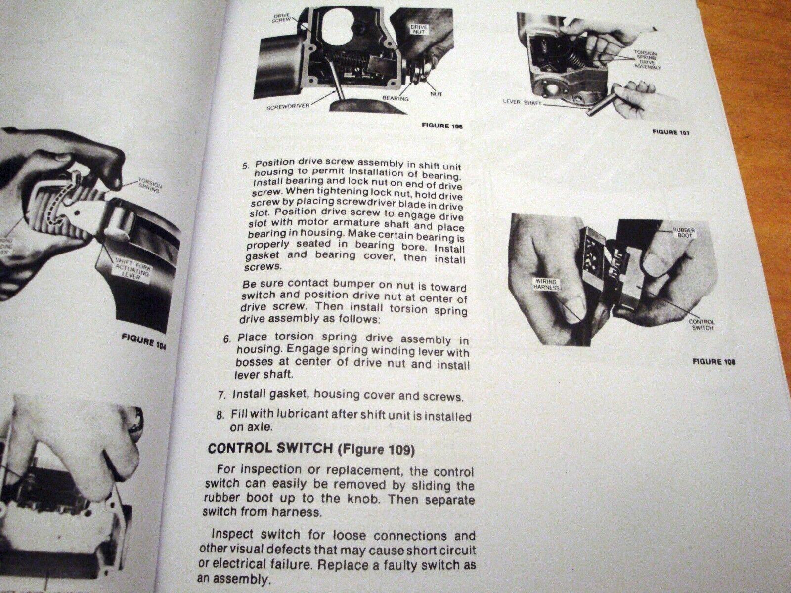 OEM Holland 1068 1069 1075 Stackcruiser Bale Wagon Service Repair Manual |  eBay