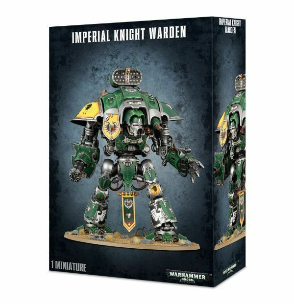 Games Workshop Warhammer 40K 54-12 Imperial Knight Warden