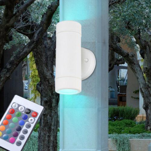 LED LAMPADE ESTERNO DIMMER UP DOWN Faretto Bianco Telecomando RGB luci parete
