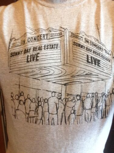 Sunny Day Real Estate Live Shirt SIZES S L XL M