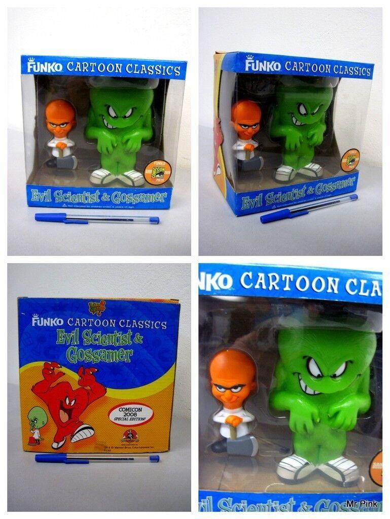 Funko Cartoon Classics EVIL SCIENTIST E GROSSAMER Comicon 2008 240 Piece Limited