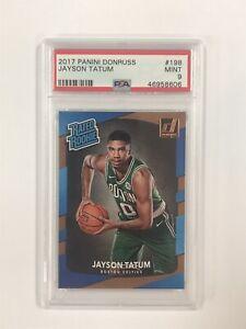 Jayson Tatum 2017-18 Donruss Rated Rookie PSA 9 Mint #198