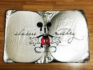 Mickey Mouse Car Accessory  1   Front Window Sunshade Windshield ... a7c9e525ec4