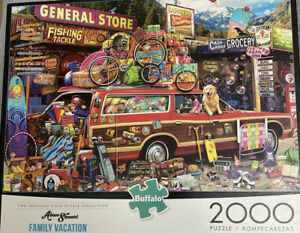 Buffalo Games Aimee Stewart Family Vacation Jigsaw Puzzle - 2000 Piece NEW