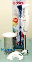 Bosch Stabmixer Msm6250, Mixbecher Mit Skala+deckel,edelstahl Mixfuß, Wandhalter