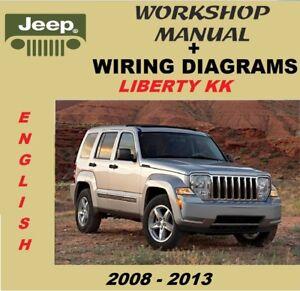 [SCHEMATICS_4ER]  Workshop manual-workshop manual jeep liberty kk 2008-2013 + wiring diagrams    eBay   Wiring Diagram Jeep Liberty 2008      eBay