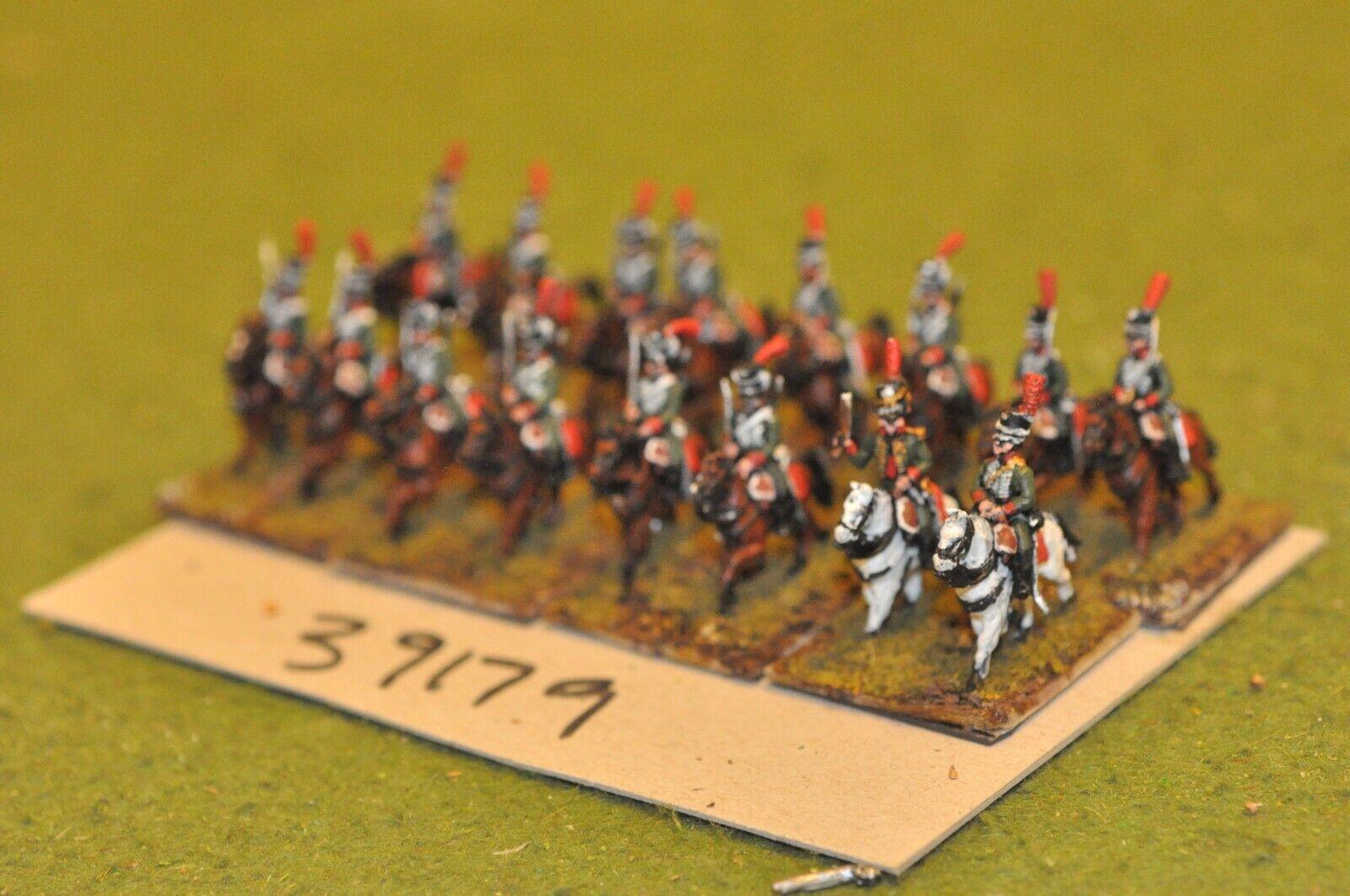15mm napoleónicas francés-Hussars 16 figuras-CAV (39179)