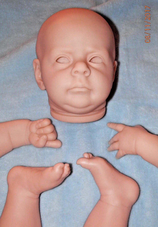 Nuevo Kit De Muñeca Bebé Reborn sin pintar Maik por Natali Blick 22  agotado con certificado de autenticidad