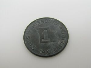 missouri sales tax receipt coin token