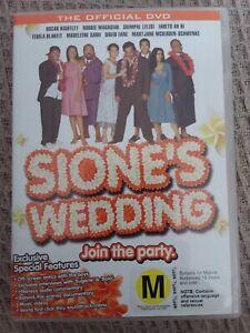 SIONE-039-S-WEDDING-GENUINE-REGION-4-DVD-Samoan-NEW-ZEALAND-MOVIE-NZ-KIWI-RARE-SIONE