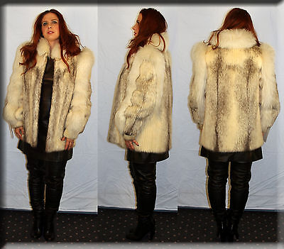 New Brown Sheared Mink Fur Scarf Brown Fox Fur Trim Efurs4less