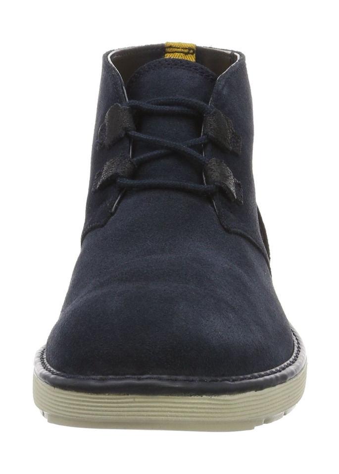 Clarks Men's Fayeman Hi Desert Boots bluee (Navy Suede Leather) UK 8 G