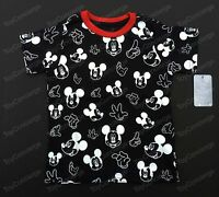 Disney Store Tee For Boys Allover Print Mickey T Shirt Choose Size