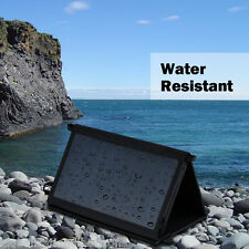 25W Foldable Dual-Port USB Solar Panel Charger High Efficiency for iPhone 6 6s