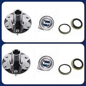 FRONT-WHEEL-HUB-amp-OEM-KOYO-BEARING-amp-SEAL-FOR-TOYOTA-TUNDRA-2000-06-4WD-ONLY-PAIR