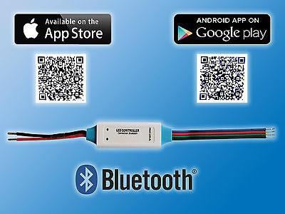 Mini Smartphone Bluetooth RGB LED Controller für iOS und Android Systeme IP63