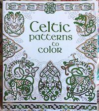 Usborne Books 537104 Celtic Patterns to Color - | eBay
