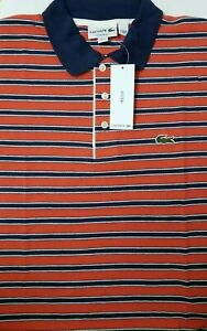 Lacoste Men Shirt Size FR 5 US Medium Made in Peru Designed in France EXCLUSIVE