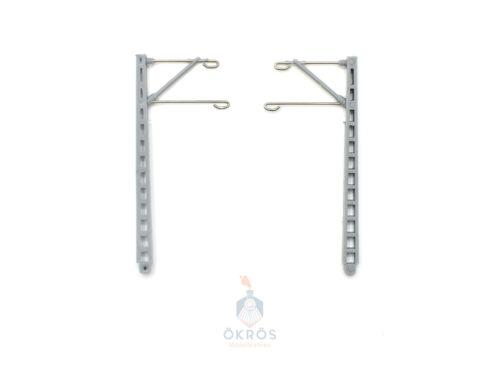 ohne Grundträger DB//DR 2 10 Stück Hobbex Oberleitungsmaste Spur N Wahl