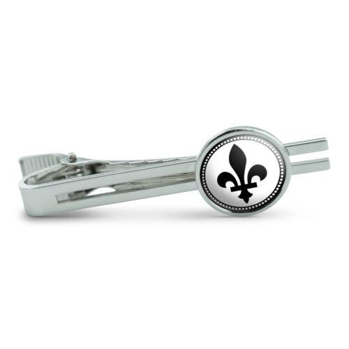 Fleurs-de-lis Men/'s Tie Clip Tack Bar