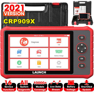 LAUNCH X431 CRP909X Auto Diagnostic Tool OBD2 Scanner TPMS ALL SYSTEM as MK808