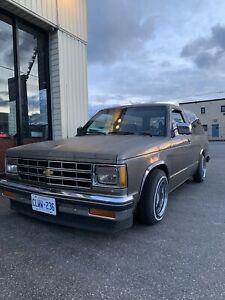 1986 Chevy blazer s10