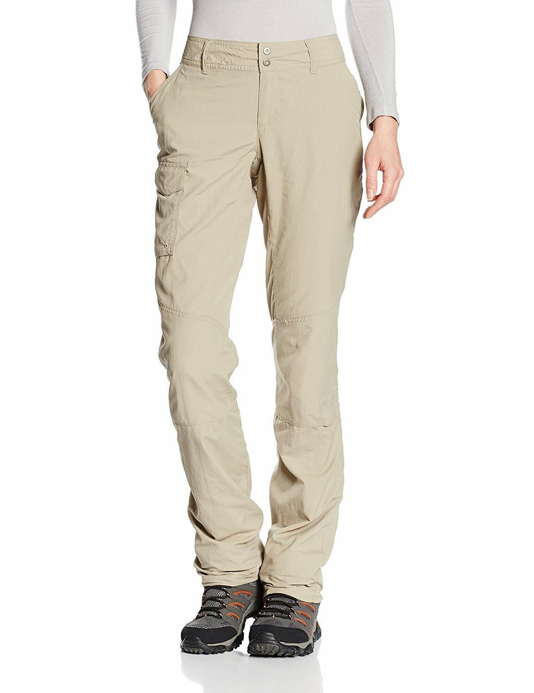 NWT Columbia Women's Tan Kestrel Ridge  Congreenible Hiking camping Pants Size 14  reasonable price