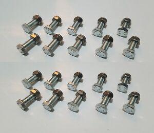 Details about 20 of AUGER SHEAR PINS BOLTS HONDA SNOWBLOWER HS1132 HS928  HS828 HS724 HS624 Z