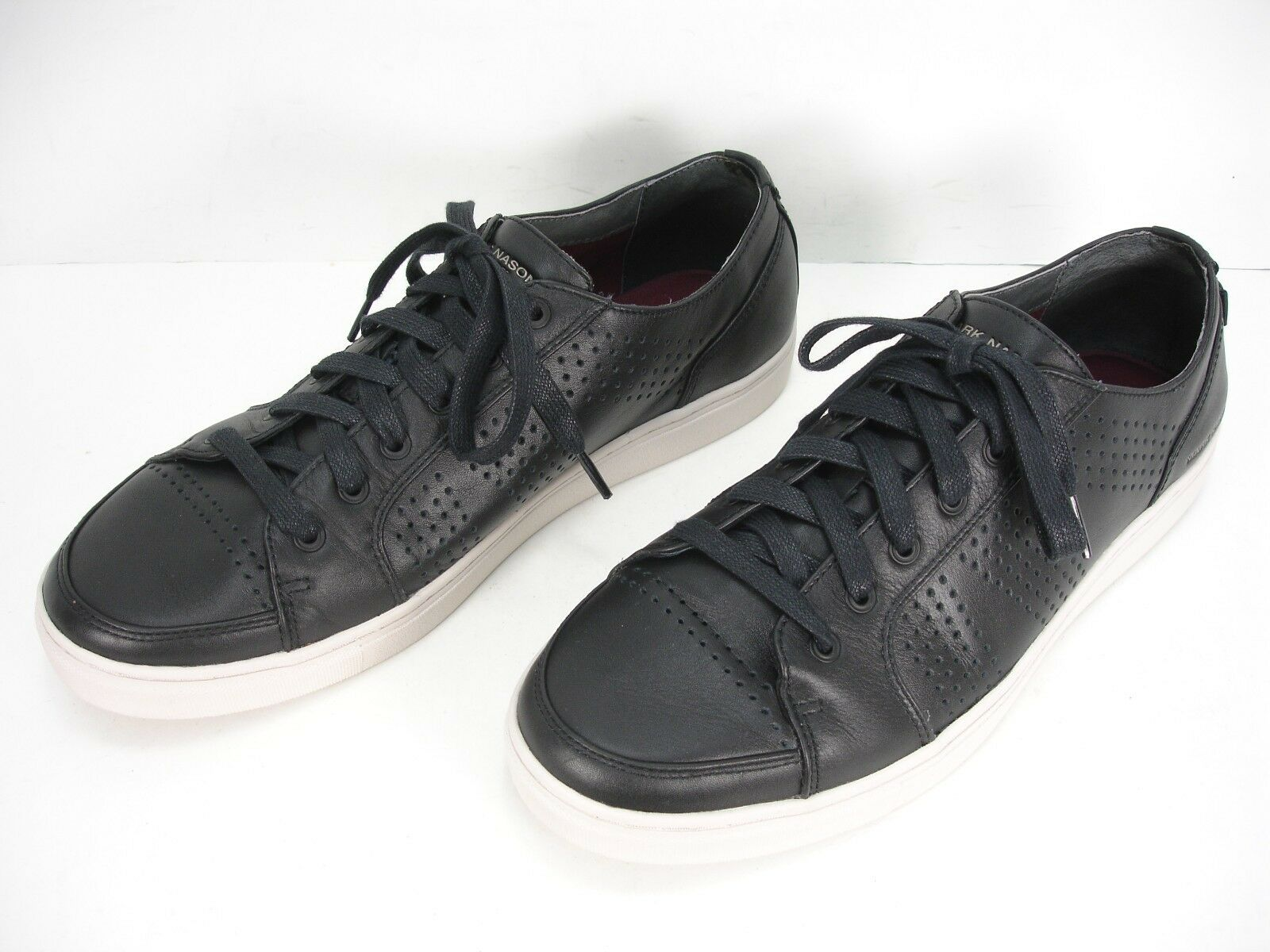 MARK NASON LOS ANGELES Crocker en cuir noir fashion Baskets chaussures Homme 11