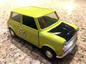 1996-CORGI-Classics-MR-BEAN-039-S-Austin-MINI-1-43-scale-Used