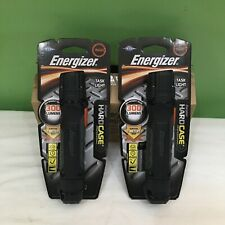 Lot Of 2 New Energizer Led Task Light Hard Case 300 Lumens Flashlight Tuf2aapew
