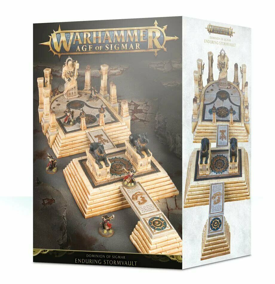 Warhammer Age of Sigmar Dominion of Sigmar  The Enduring Stormvault