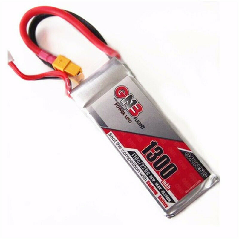 GAONENG 14.8V 1300mAh 4S 110 220C Battery RC Battery For FPV Racing Drone