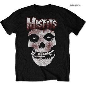 e7c8bad63a3117 Official T Shirt MISFITS Crimson Fiend Skull 'Blood Drip Skull' All ...