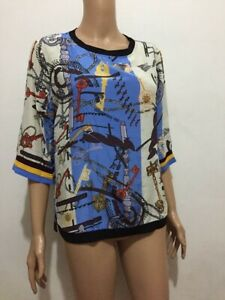 SILK-3-4-PRINTED-TOP