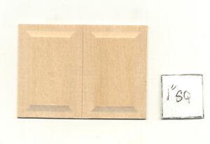 Wainscot-Panel-Raised-NE1072-dollhouse-miniature-2pc-1-12-scale-basswood