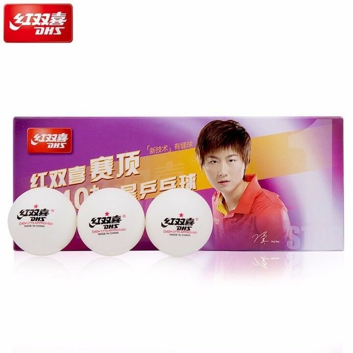 1 stars DHS D40+ Olympic Table Tennis white Ping Pong Balls Official UK Seller