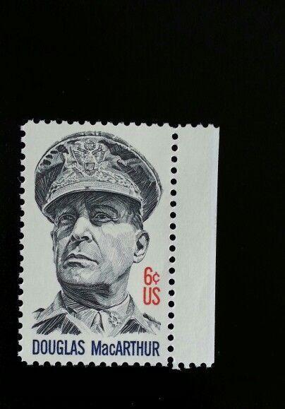 1971 6c Five-Star General Douglas MacArthur, Military S