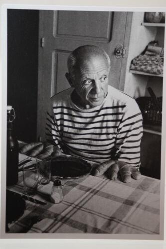 Kunst-Postkarte PABLO PICASSO 1952 by Robert Doisneau