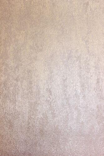 Vlies Tapete Uni Struktur einfarbig rose gold metallic glanz 104956 Molten