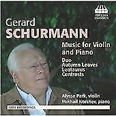 Details about Schurmann: Music for Violin and Piano, Alyssa Park, Audio CD,  New, FREE & Fast D