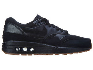 Details about Nike Air Max 1 Essential Womens 599820 020 Black Gum Running scarpa Size 12