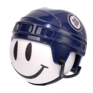 Winnipeg Jets Helmet Head Antenna Topper Desktop Stand Bobble Buddy Nhl Ebay