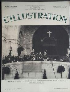 Rivista-per-Lettera-Settimanale-L-039-Illustrazione-N-4924-Malespine-1937-ABE
