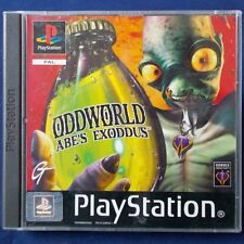 PS1 - Playstation ► Oddworld: Abe's Exoddus ◄ Neuwertig