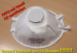 Premium Mundschutzmaske FFP3 oder FFP2 / medizinische Gesichtsmaske Laientest