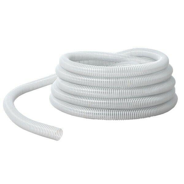 25 m de tuyau flexible transparent spiralé Ø intérieur 32 mm qualité alimentaire