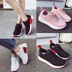 Women-039-s-Running-Shoes-Sport-Sneakers-Athletic-Breathable-Casual-Outdoor-Trainers